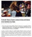 El circuito 'Danza a Escena' animará el inicio del Festival de los Sentidos de La Roda