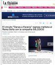 """El circuito """"Danza a Escena"""" regresa mañana al Reina Sofía con la compañía SóLODOS"""