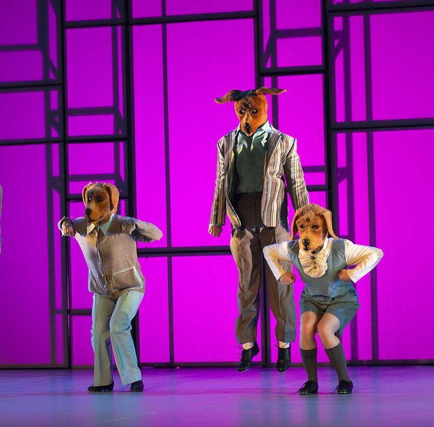 Aracaladanza y Danza Mobile, en el Auditori del Edificio Polivalente de Cas Serres de Ibiza con 'Danza a Escena'