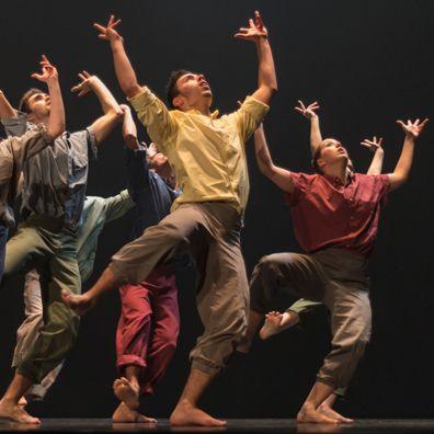 La compañía vasca Dantzaz recala mañana sábado en el Teatro Francisco Rabal de Pinto con su espectáculo 'Áureo'