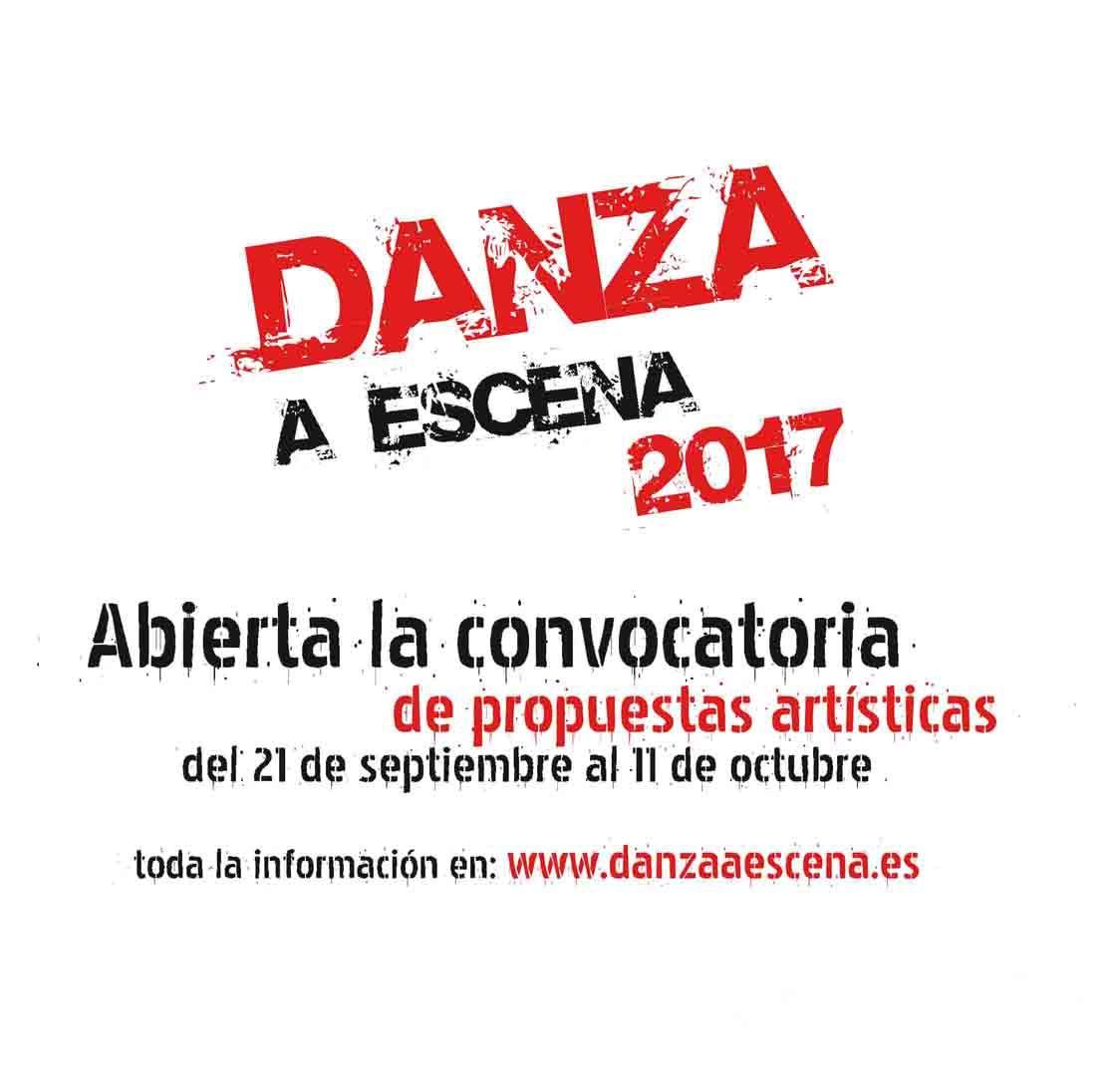 Se abre la convocatoria para la presentación de propuestas artísticas al circuito 'Danza a Escena' 2017