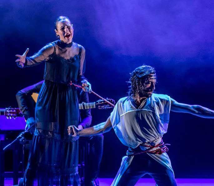 El flamenco rupturista de Eduardo Guerrero recala este sábado en el Teatro Arniches de Alicante