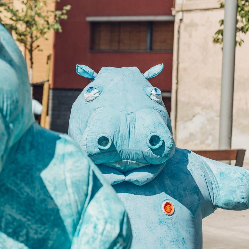 'Danza a Escena' se despide del Paranimf de la Universitat Jaume I de Castellón con 'Hippos'
